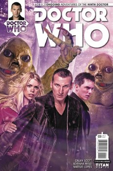 DOCTOR WHO 9TH #3 CVR B PHOTO