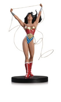 DC DESIGNER SER WONDER WOMAN BY ADAM HUGHES STATUE