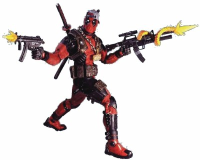 MARVEL CLASSICS DEADPOOL ULTIMATE 1/4 SCALE ACTION FIGURE