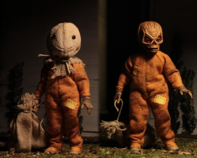TRICK R TREAT SAM 8IN RETRO ACTION FIGURE