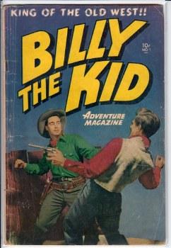 BILLY THE KID ADVENTURE MAGAZINE #1 VG-