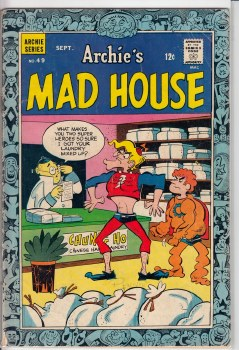ARCHIE'S MADHOUSE #49 VG-