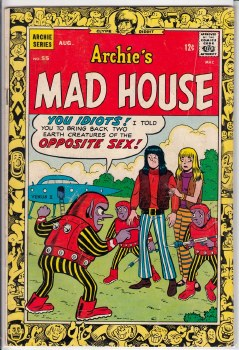 ARCHIE'S MADHOUSE #55 VG