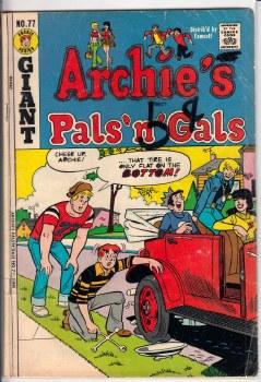 ARCHIE'S PALS 'N GALS #077 GD+