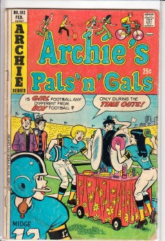 ARCHIE'S PALS 'N GALS #102 GD