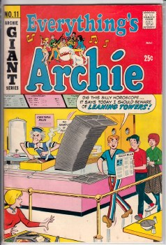 EVERYTHING'S ARCHIE #011 FN+