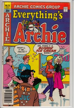 EVERYTHING'S ARCHIE #072 FN