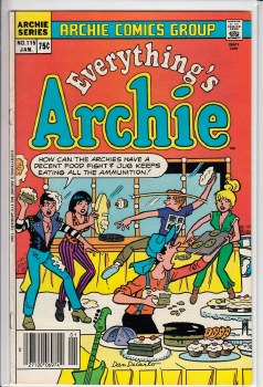 EVERYTHING'S ARCHIE #115 FN+