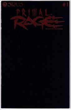 PRIMAL RAGE #1 RED FOIL LOGO NM-