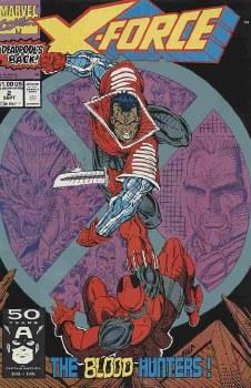 X-FORCE (1991) #002 NM-