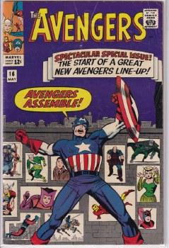 AVENGERS (1963) #016 VG+