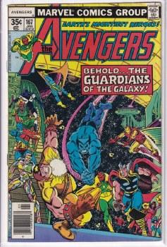 AVENGERS (1963) #167 FN
