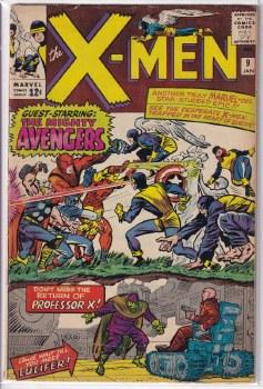 X-MEN (1963) #009 FN-