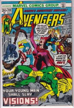 AVENGERS (1963) #113 FN/VF