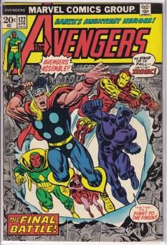 AVENGERS (1963) #122 VF-