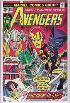 AVENGERS (1963) #139 VG+