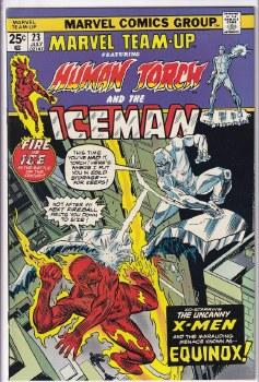 MARVEL TEAM-UP (1972) #23 VF+