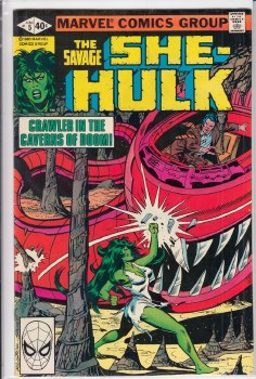 SAVAGE SHE-HULK (1980) #05 VF-