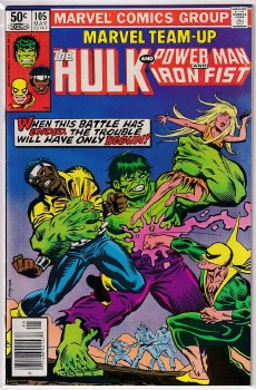 MARVEL TEAM-UP (1972) #105 VF