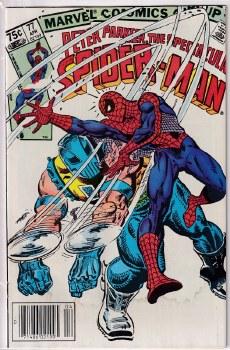 SPECTACULAR SPIDER-MAN (1976) #077 VG