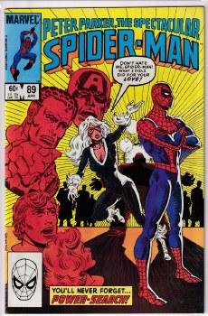 SPECTACULAR SPIDER-MAN (1976) #089 VF