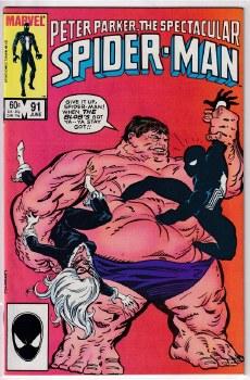 SPECTACULAR SPIDER-MAN (1976) #091 VF+