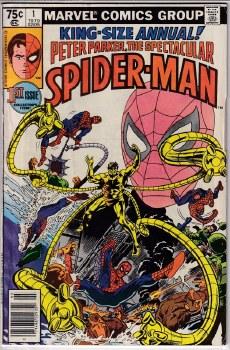 SPECTACULAR SPIDER-MAN (1976) ANNUAL #01 VG+