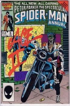 SPECTACULAR SPIDER-MAN (1976) ANNUAL #06 NM-