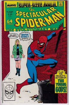SPECTACULAR SPIDER-MAN (1976) ANNUAL #08 VF-