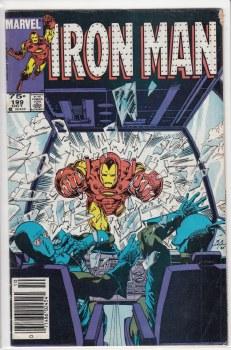 IRON MAN (1968) #199 VG-