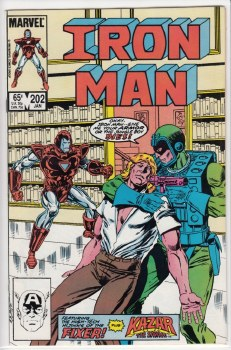 IRON MAN (1968) #202 VF/NM