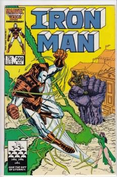IRON MAN (1968) #209 VF+