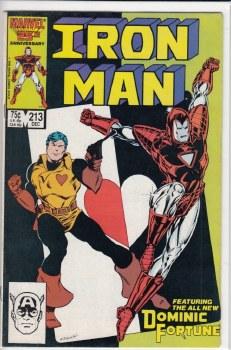 IRON MAN (1968) #213 VF-