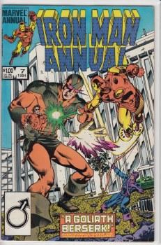 IRON MAN (1968) ANNUAL #07 VF+