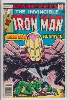 IRON MAN (1968) #115 FN