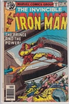 IRON MAN (1968) #121 VG