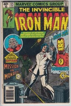 IRON MAN (1968) #125 GD-