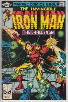 IRON MAN (1968) #134 VG