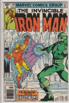 IRON MAN (1968) #136 VG