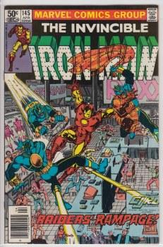 IRON MAN (1968) #145 VF+