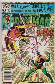IRON MAN (1968) #154 VF+