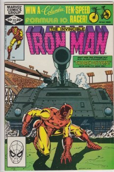 IRON MAN (1968) #155 VF+