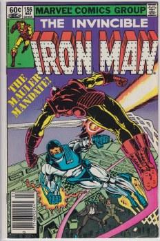 IRON MAN (1968) #156 VF-