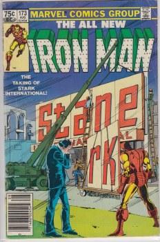 IRON MAN (1968) #173 VG