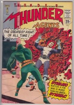 THUNDER AGENTS (1965) #02 VF