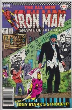 IRON MAN (1968) #178 VF