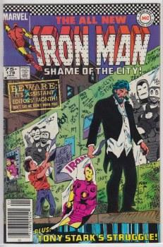 IRON MAN (1968) #178 VF+
