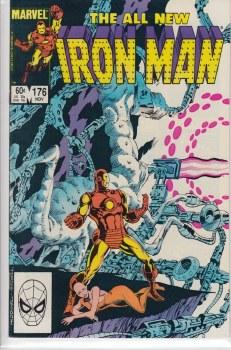 IRON MAN (1968) #176 NM-