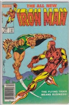 IRON MAN (1968) #177 VG-