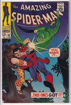 AMAZING SPIDER-MAN (1963) #049 FN